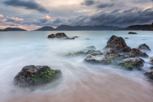 Francesco Gola Seascape Landscape Photography Long Exposure Lerici Castle Beach Maralunga