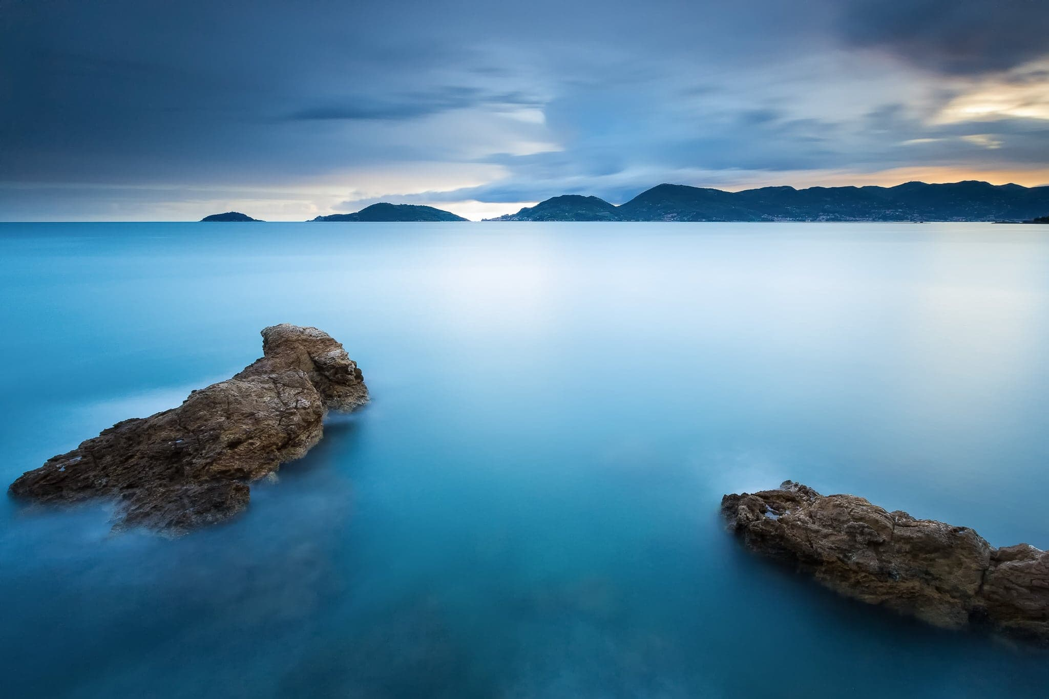 Francesco Gola Seascape Landscape Photography Long Exposure Lerici Belvedere Summer Storm Google