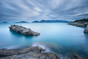 Francesco Gola Seascape Landscape Photography Long Exposure Lerici Blue Storm Tellaro