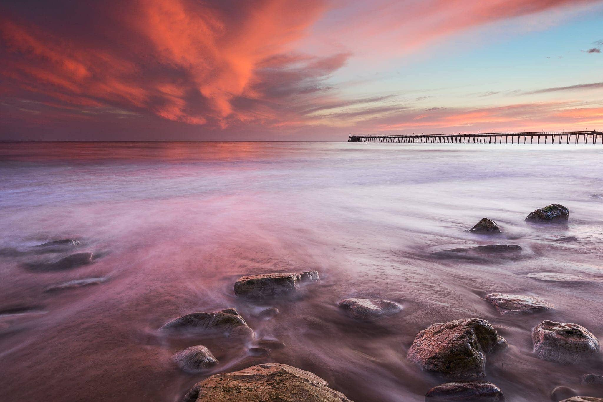 Francesco Gola Seascape Landscape Photography Long Exposure California Sunset Santa Barbara