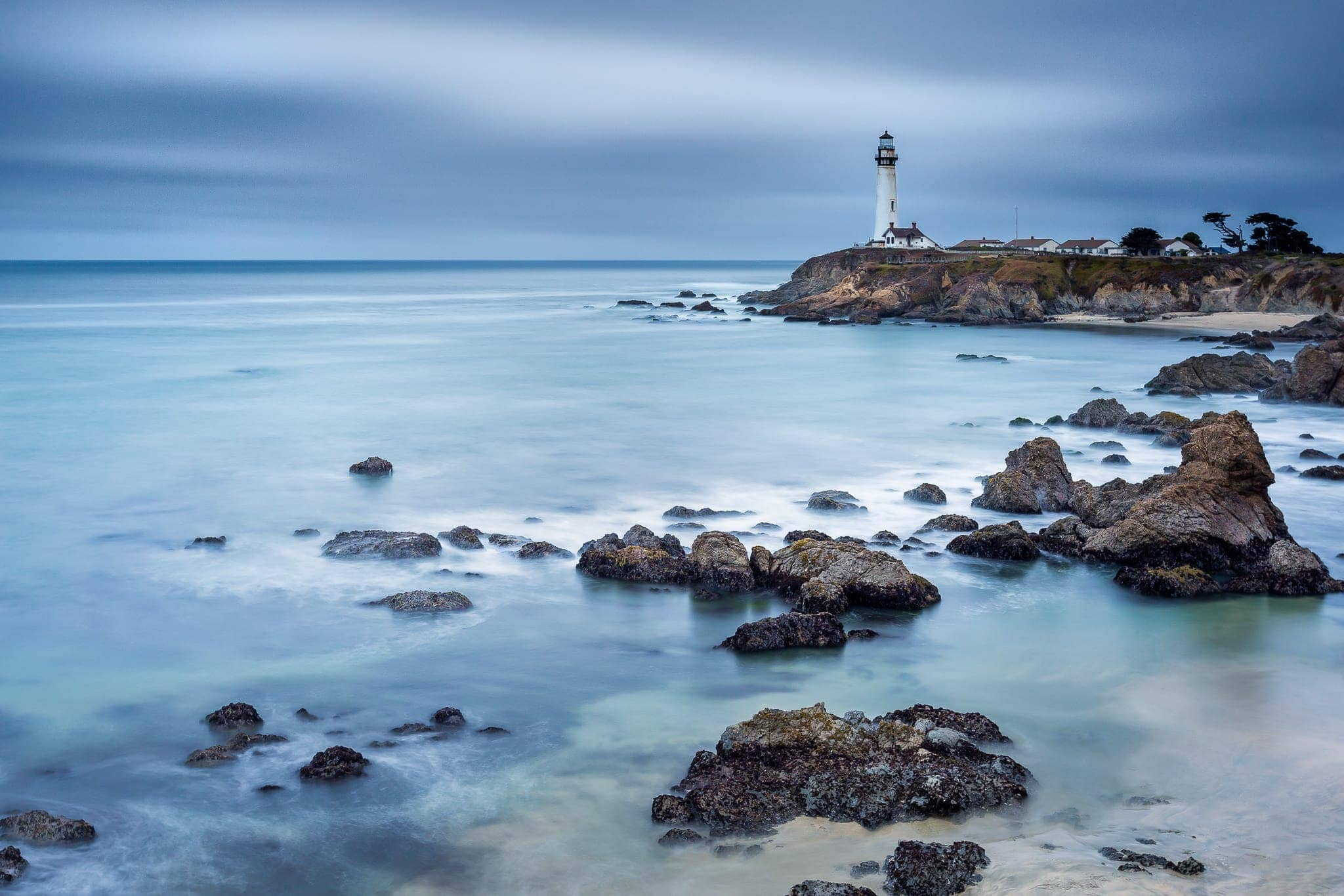 Francesco Gola Seascape Landscape Photography Long Exposure Pigeon Point USA California Lighthouse