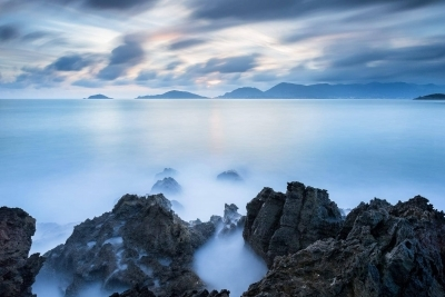 Francesco Gola Seascape Landscape Photography Long Exposure Crowded Skies Gulf Poets Tellaro Lerici