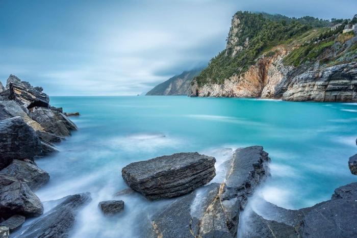 Francesco Gola Seascape Landscape Photography Long Exposure Byron Cave Porto Venere