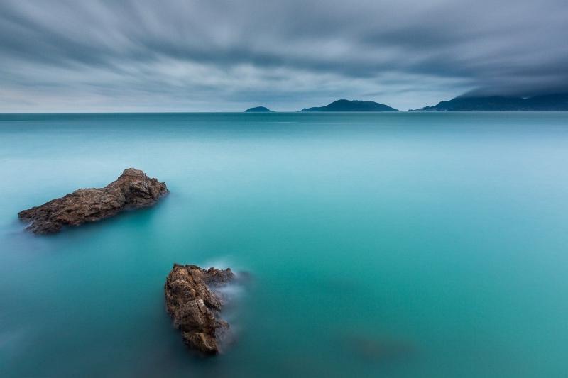 Francesco Gola Seascape Landscape Photography Long Exposure Lerici Gulf Poets Storm Italy