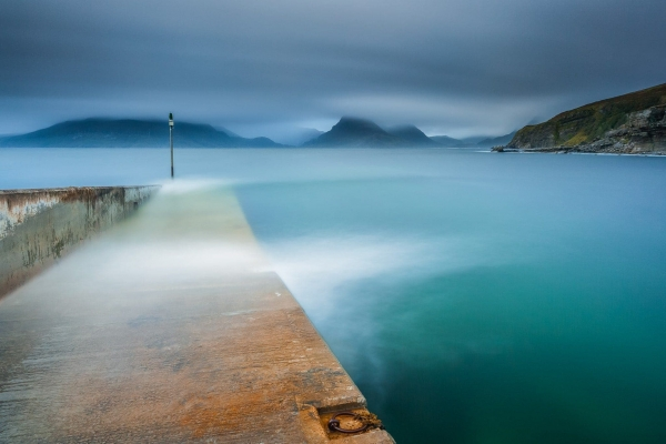 Francesco Gola Seascape Landscape Photography Long Exposure Limbo Elgol Skye Scotland Storm