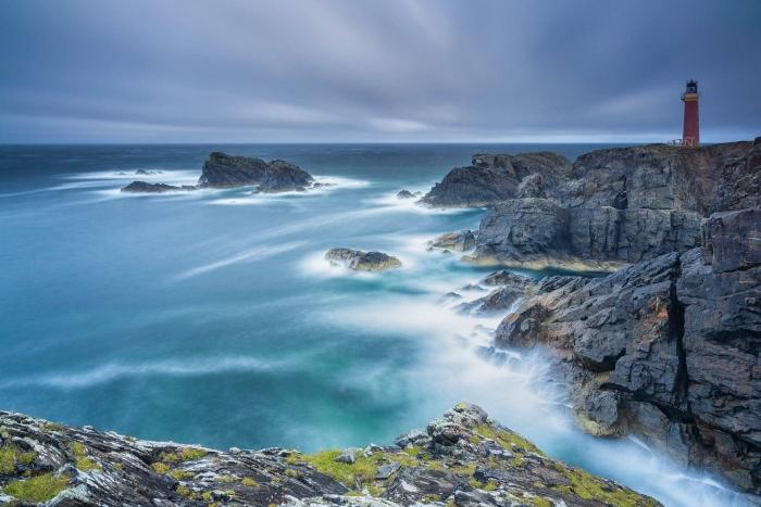 Francesco Gola Seascape Landscape Photography Long Exposure Outer Hebrides Scotland Butt Lewis Lighthouse