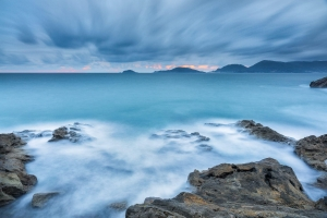 Francesco Gola Seascape Landscape Photography Long Exposure Tellaro Storm Liguria