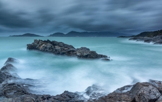 Francesco Gola Seascape Landscape Photography Long Exposure Storm Gulf Tellaro Italy