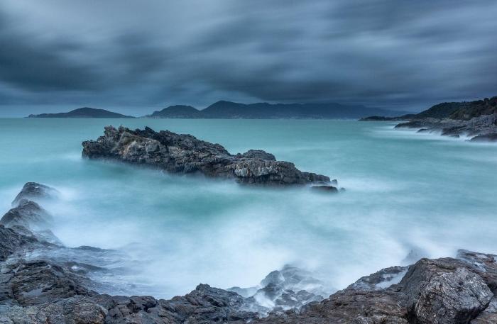 Francesco Gola Seascape Landscape Photography Long Exposure Storm Gulf Tellaro Italy