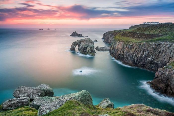 Francesco Gola Seascape Landscape Photography Long Exposure Land's End Cornwall Uk