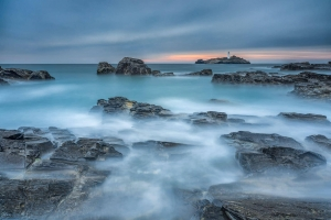 Francesco Gola Seascape Landscape Photography Godrevy Storm Uk Cornwall Long Exposure