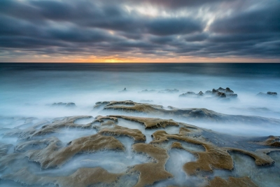 Francesco Gola Seascape Landscape Photography USA California San Diego Ocean Brain Summer Sunset Storm Long Exposure