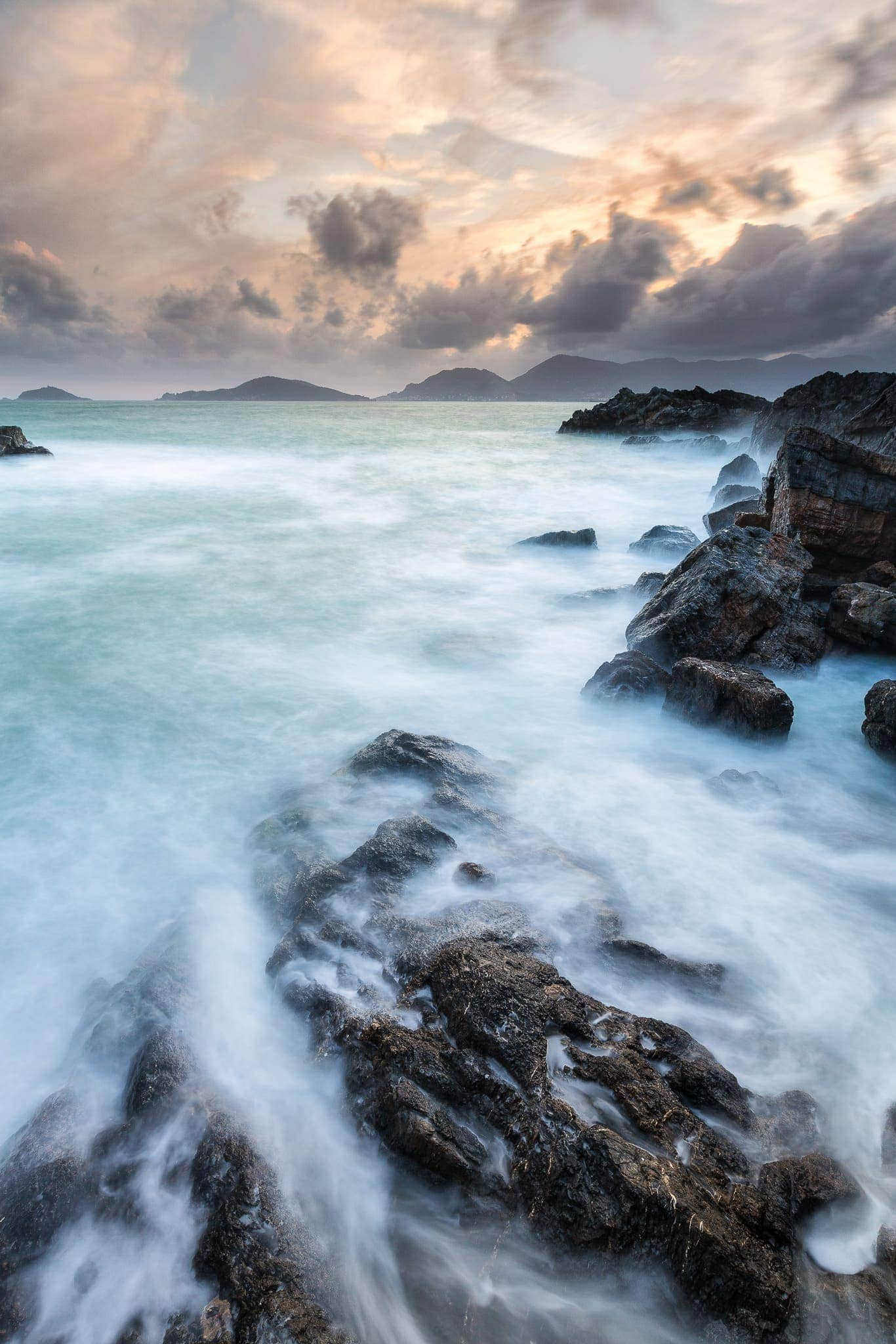 Francesco Gola Seascape Landscape Photography Tellaro Summer Storm Long Exposure