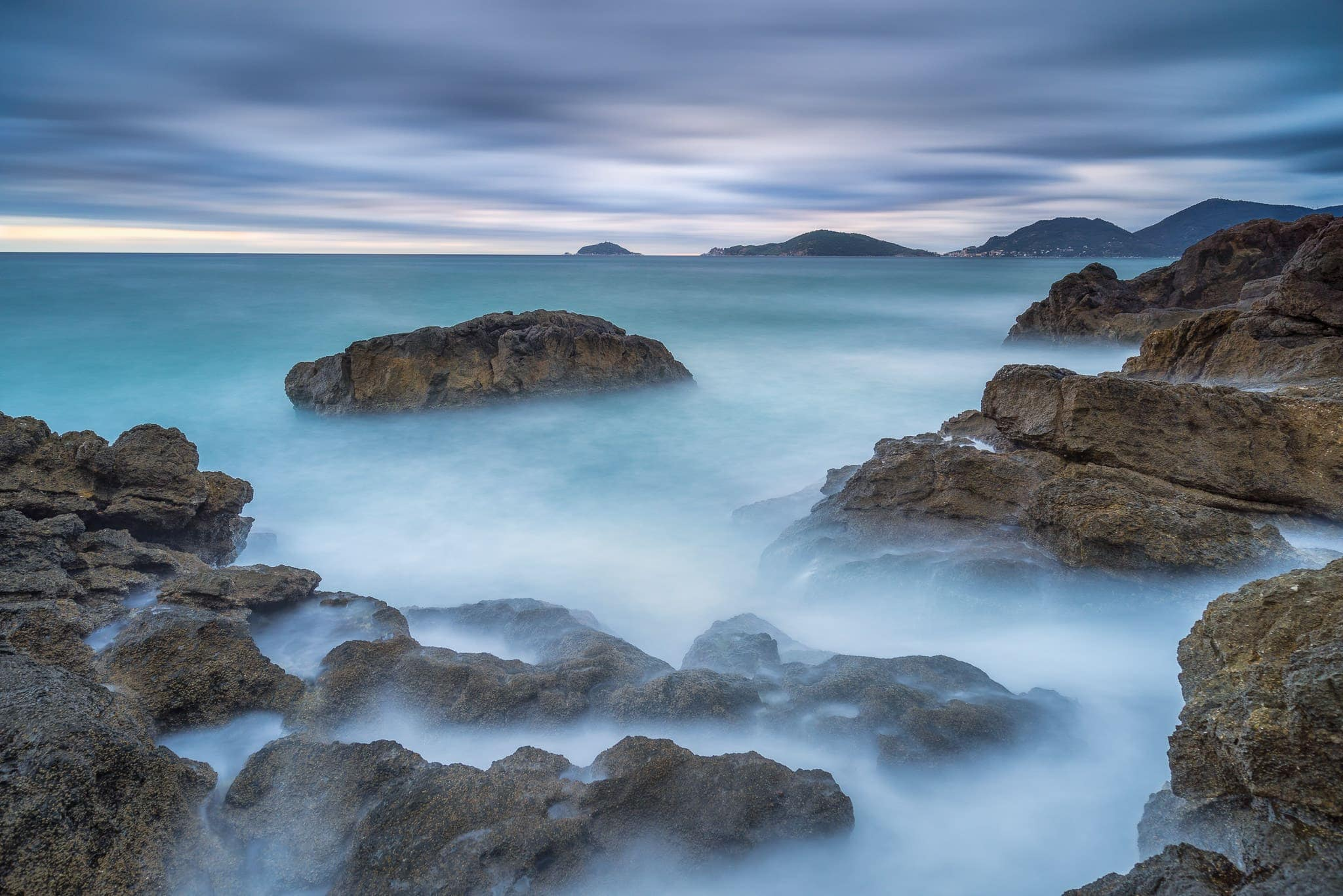 Francesco Gola Seascape Landscape Photography Lerici Storm Gulf Poets Long Exposure