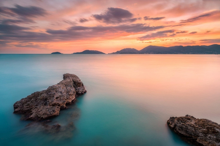 Francesco Gola Seascape Landscape Photography Italy Lerici Liguria Gulf Poets Spezia Long Exposure