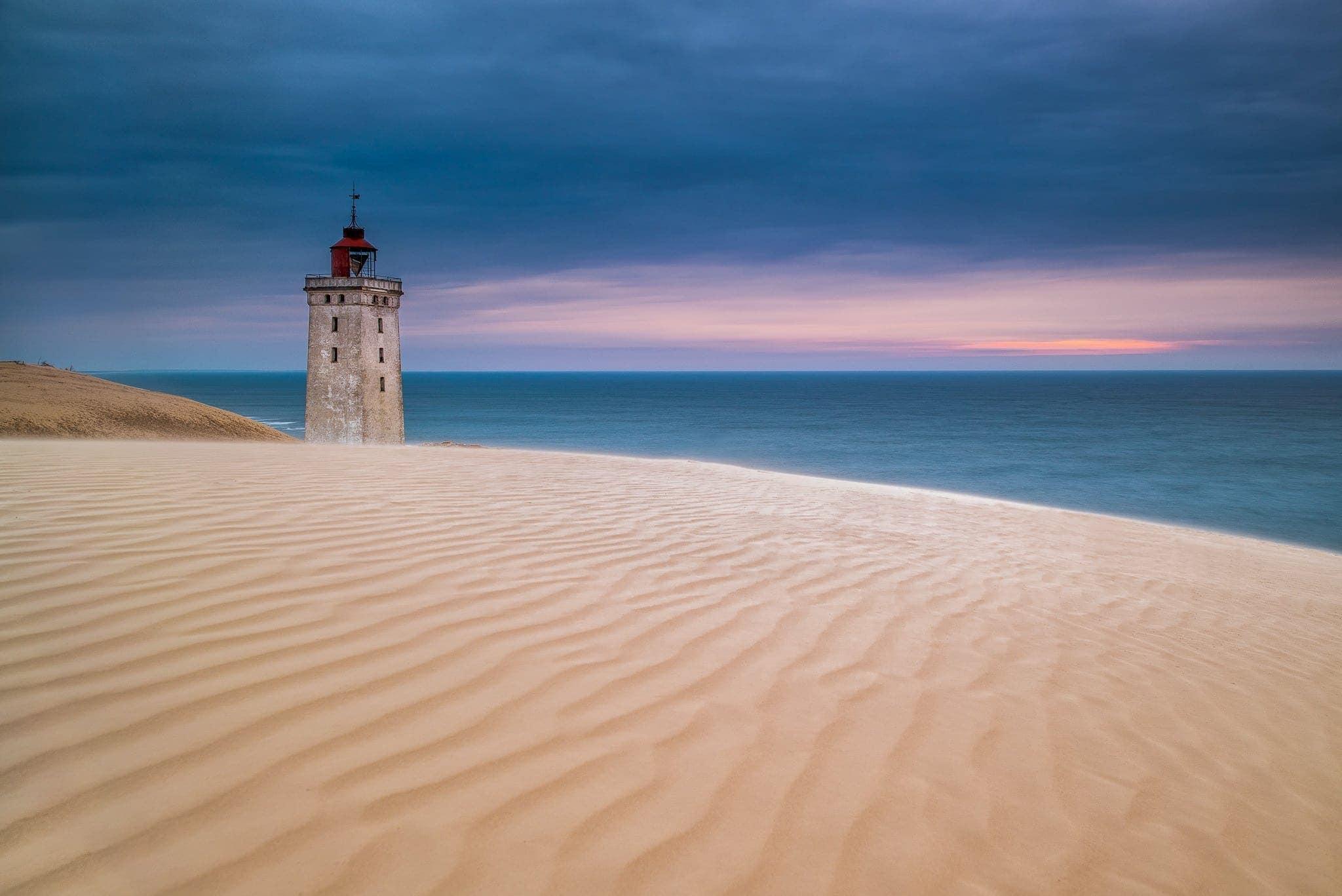 Francesco Gola Seascape Landscape Photography Denmark Lighthouse Rubjerg Knude Long Exposure