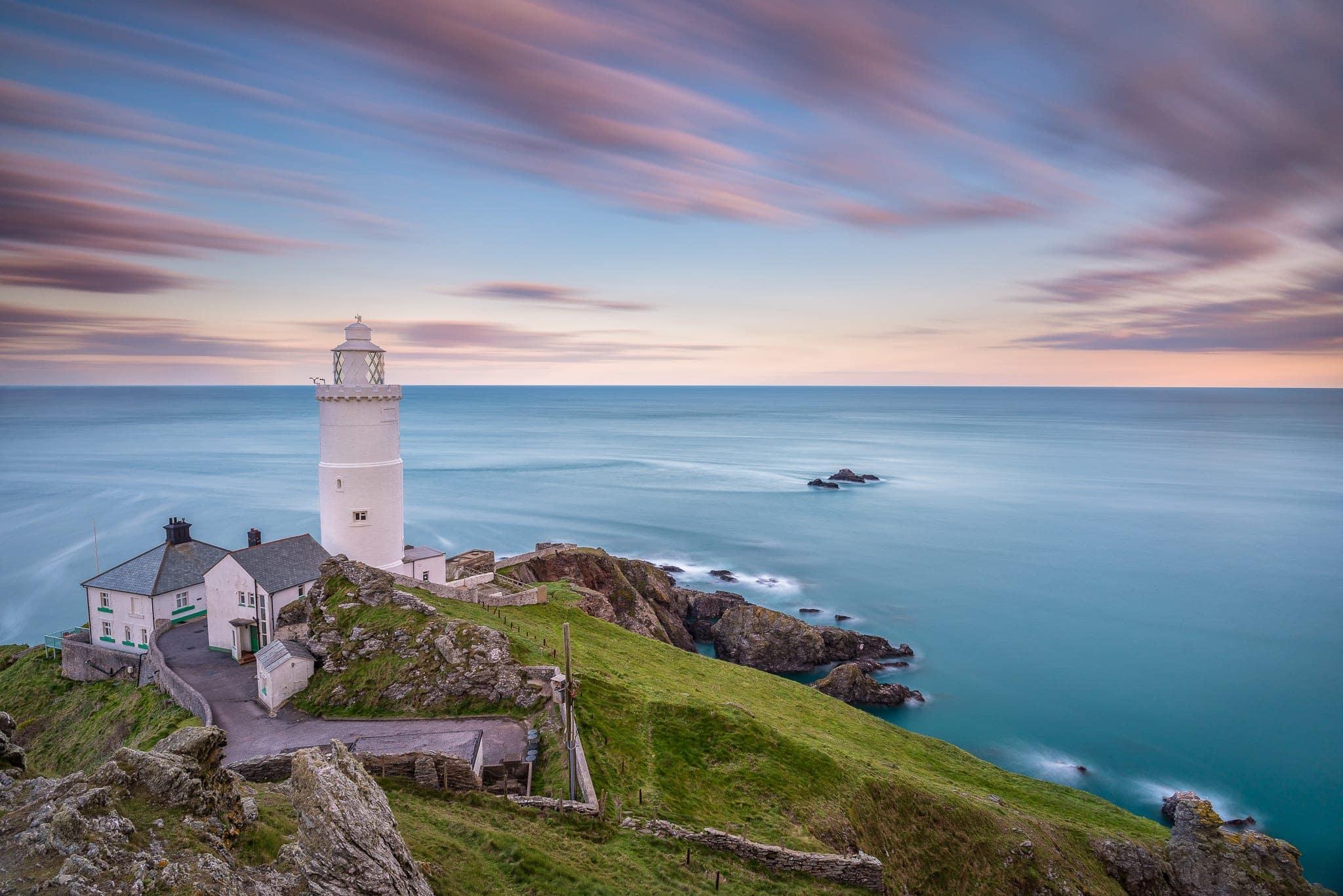Francesco Gola Seascape Landscape Photography Uk Devon Star Lighthouse Long Exposure