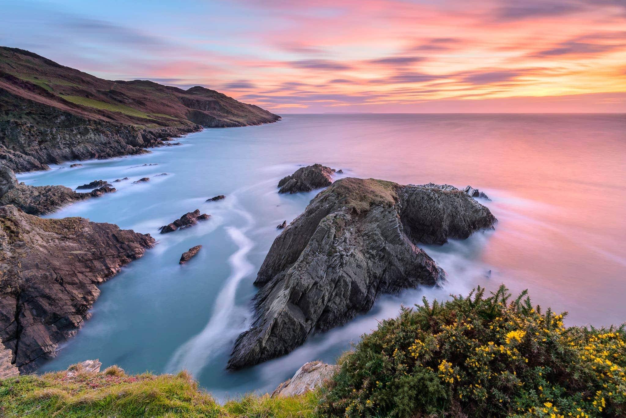 Francesco Gola Seascape Landscape Photography Uk Devon Cornwall Long Exposure