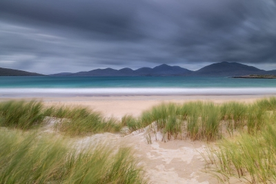Francesco Gola Seascape Landscape Photography Scotland Luskentyre Beach Outer Hebrides Long Exposure