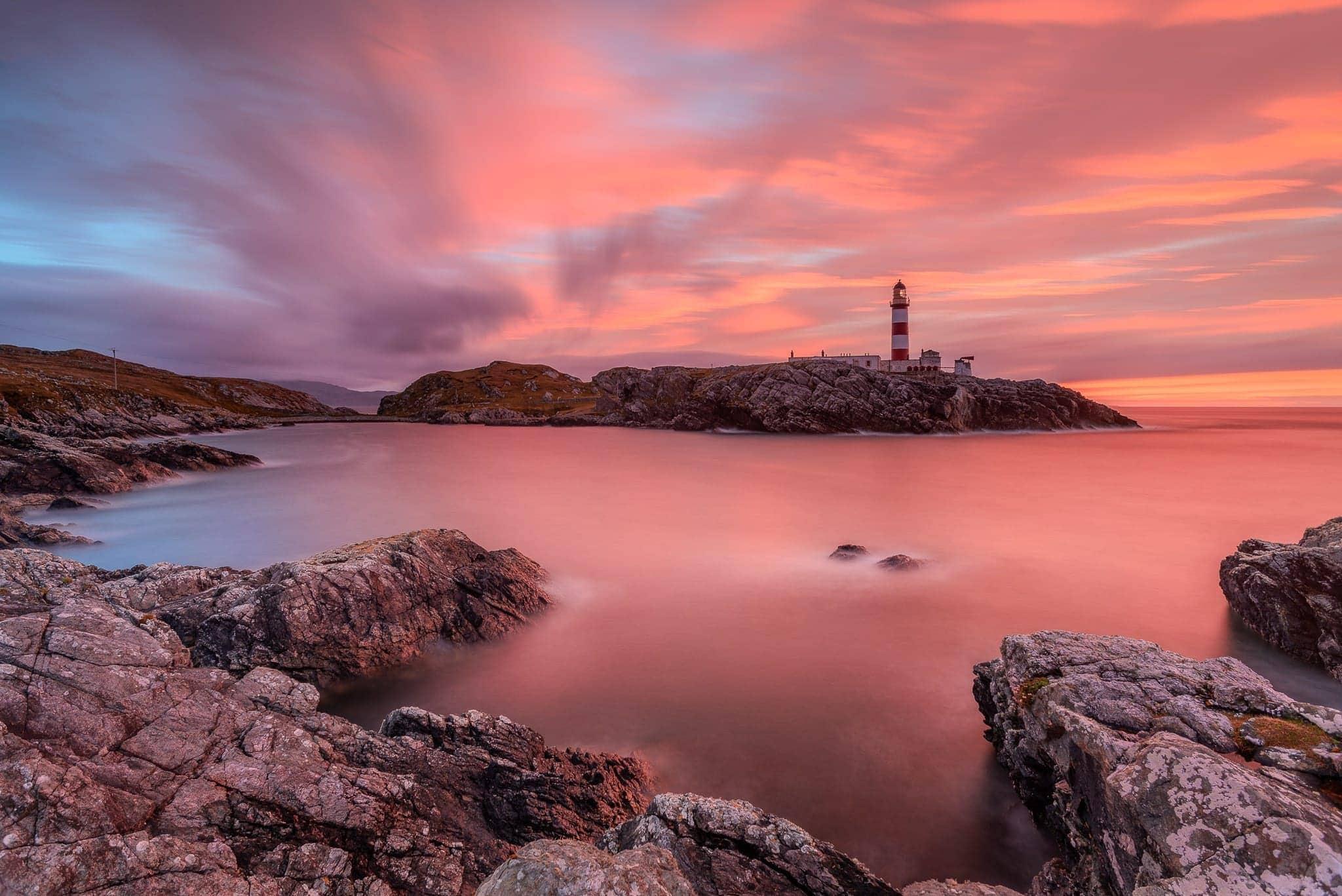 Francesco Gola Seascape Landscape Photography Outer Hebrides Lighthouse Long Exposure