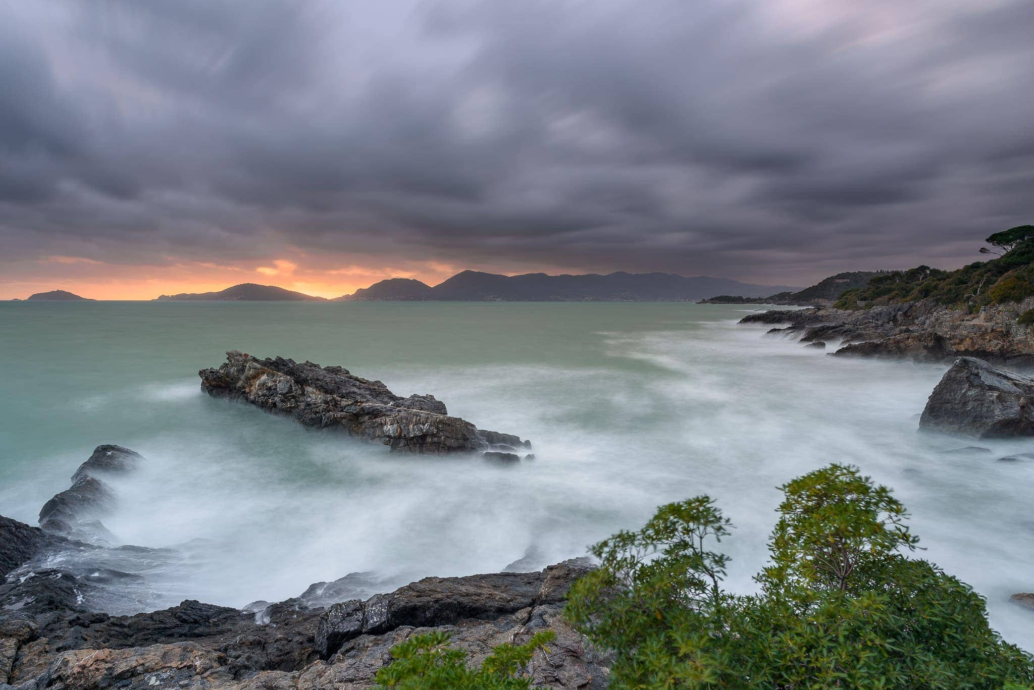 Francesco Gola Seascape Landscape Photography Italy Liguria Tellaro Long Exposure