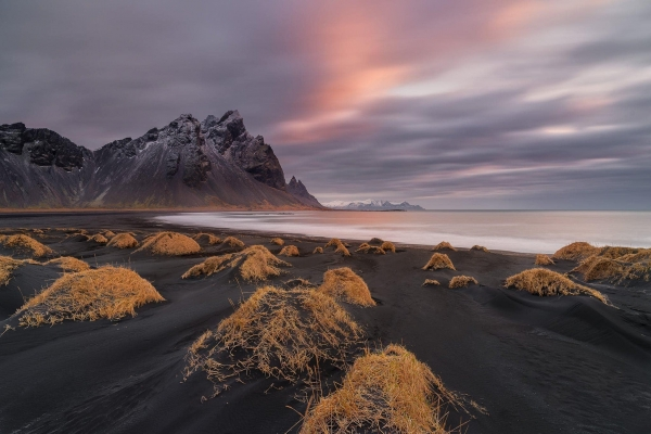 Francesco Gola Seascape Landscape Photography Iceland Vestrahorn Long Exposure