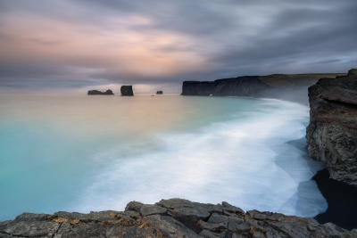 Francesco Gola Seascape Landscape Photography Iceland Vik Long Exposure