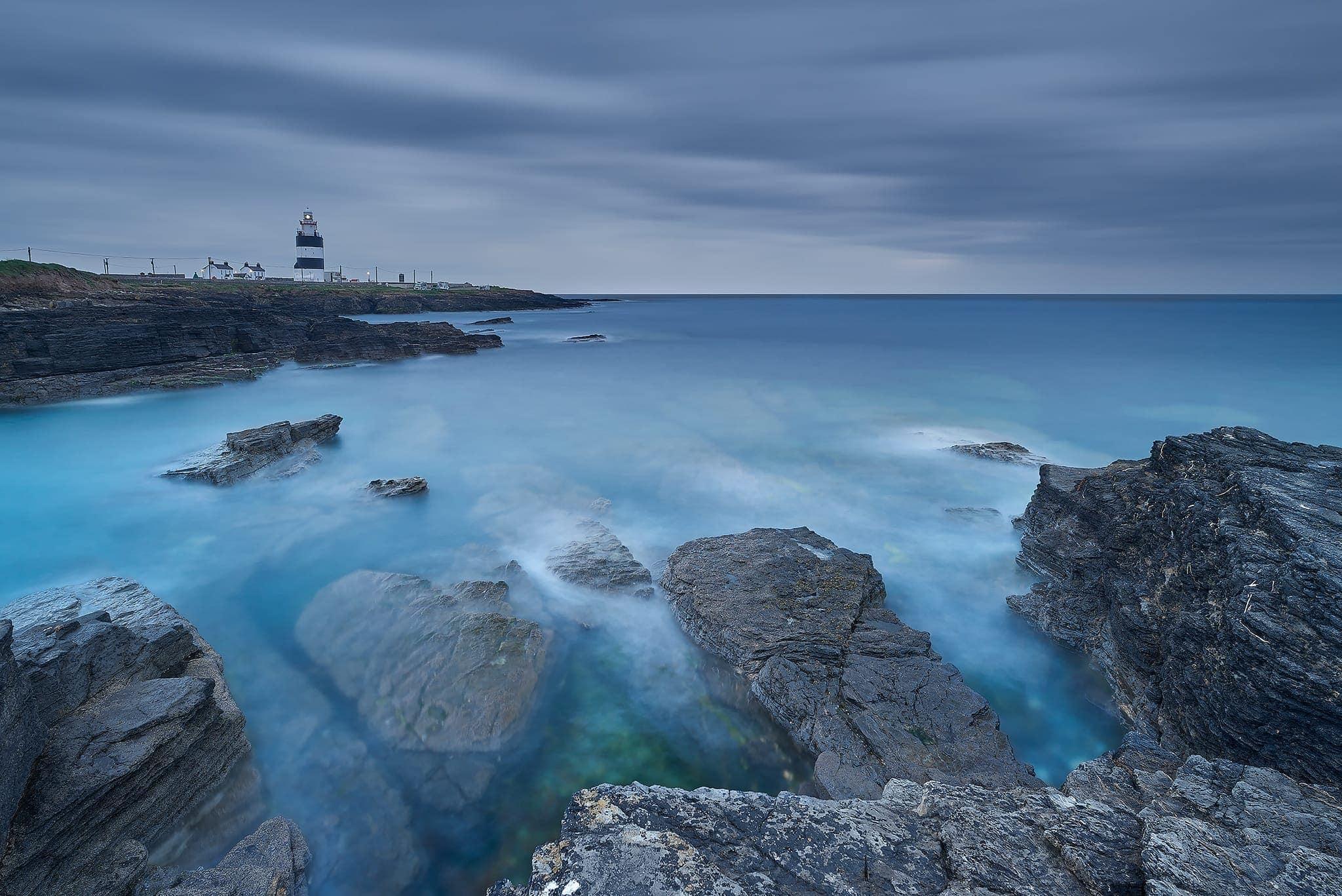 Francesco Gola Seascape Landscape Photography Ireland Lighthouse Long Exposure
