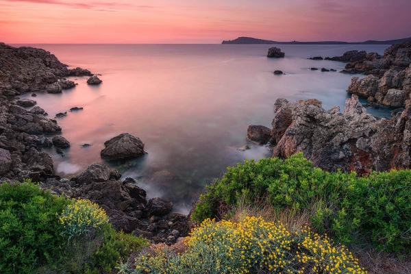 francesco gola long exposure spain minorca menorca