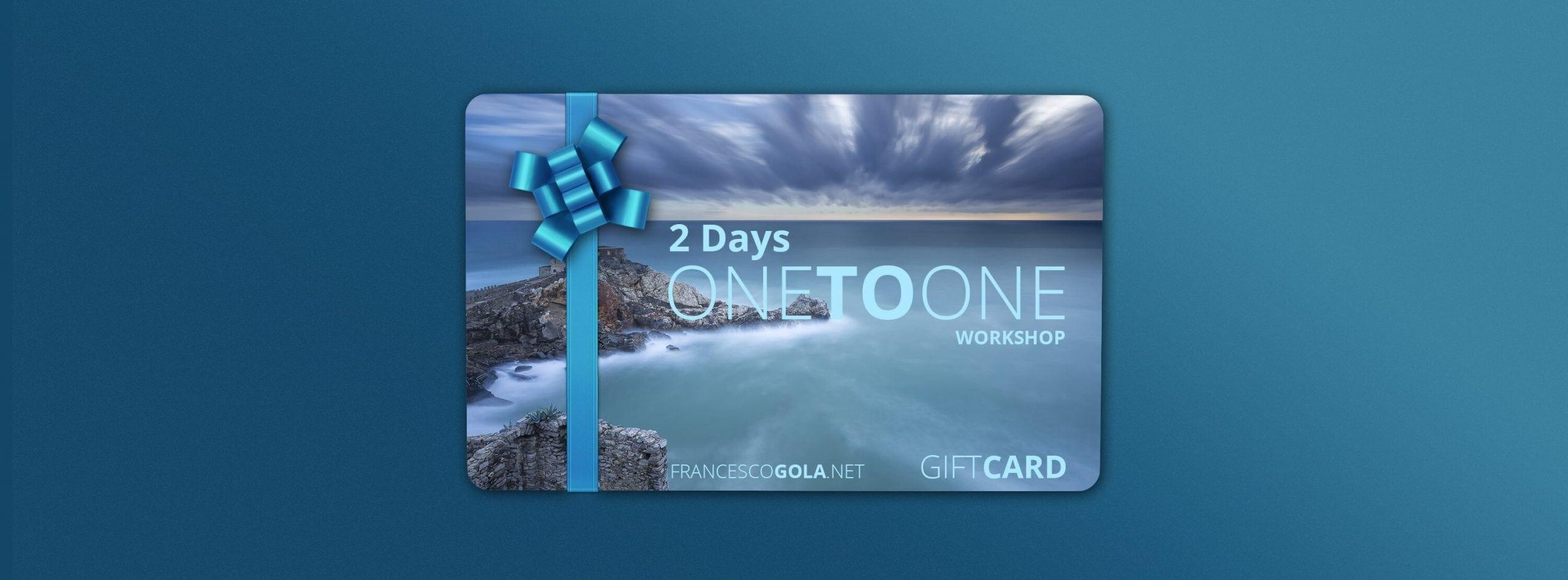 Francesco Gola Seascape Landscape Photography Workshop Class Gift Card