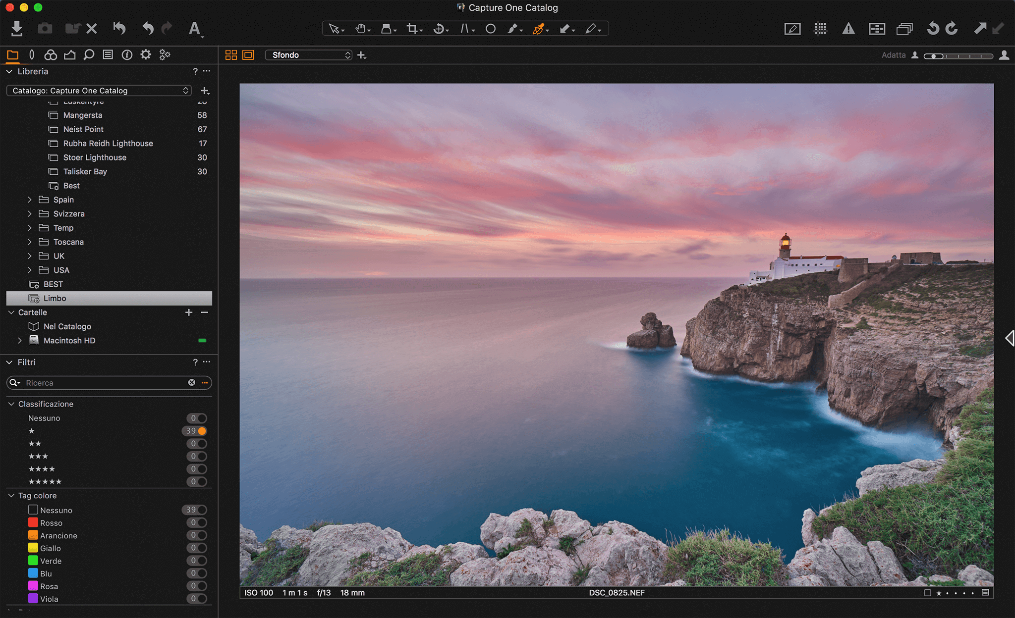 Capture One Pro Francesco Gola C1 3
