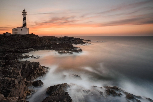 Francesco Gola Seascape Landscape Photography Spain Menorca Long Exposure Lighthouse