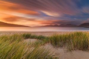 Francesco Gola Seascape Landscape Photography UK Scotland Luskentyre Long Exposure Sunset