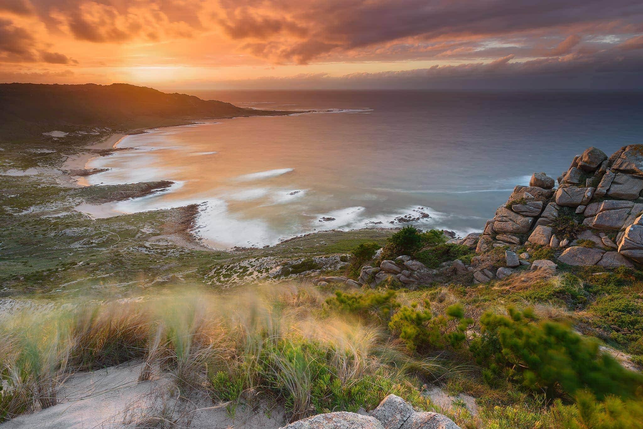 Francesco Gola Seascape Landscape Photography Spain Galizia Galicia Espana Long Exposure