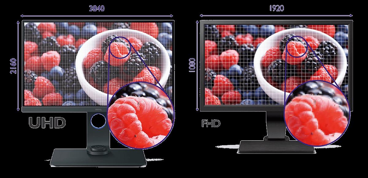 benq sw271 4k monitor display uhd comparison francesco gola