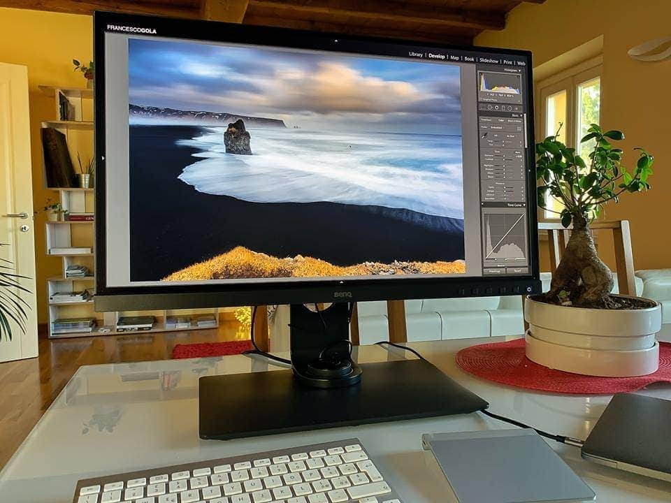 francesco gola review monitor photography benq sw271 cover