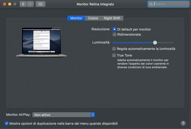 Francesco Gola System Setting Profiling Calibration Mac X Rite i1Display Pro