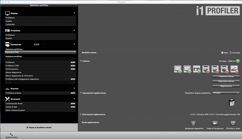 Francesco Gola X-Rite Calibrate Profile Monitor i1Display Pro iProfiler ICC 1
