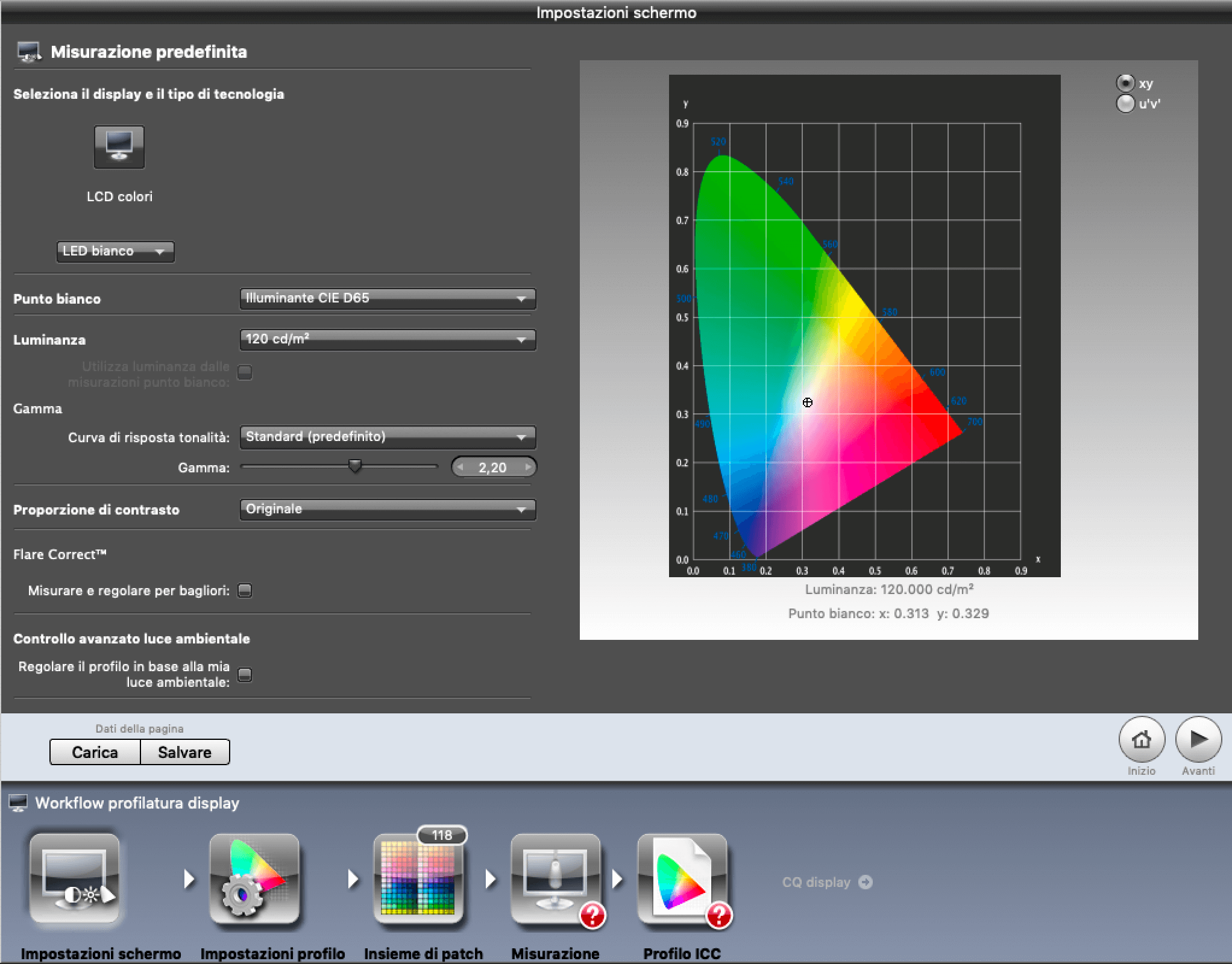 Monitor calibration with X-Rite i1Display Pro | Francesco Gola