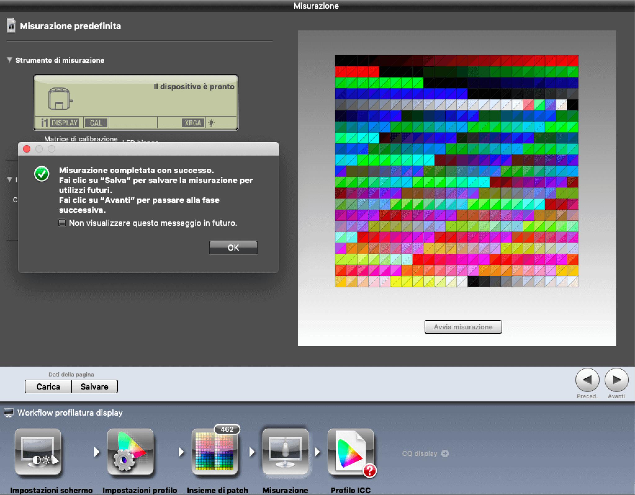 Francesco Gola X-Rite Calibrate Profile Monitor i1Display Pro iProfiler ICC 9