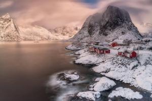 Francesco Gola Reine Lofoten Norway Long Exposure Seascape