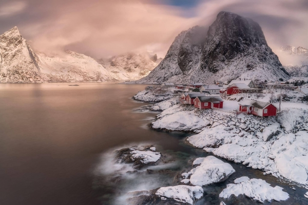 Francesco Gola Reine Lofoten Norway Long Exposure Seascape