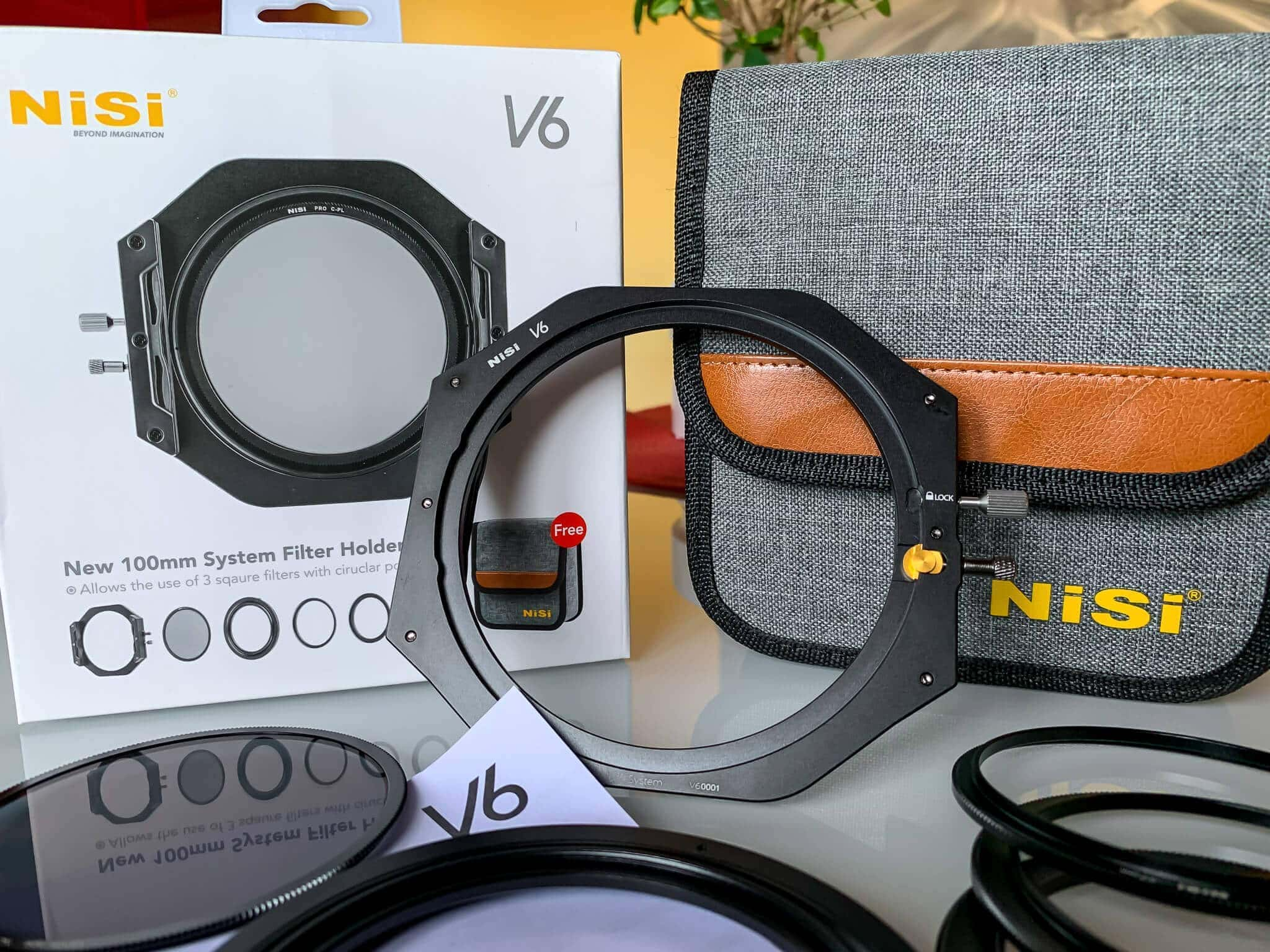 Francesco Gola New NiSi V6 Filter Holder Review Field FG unboxing