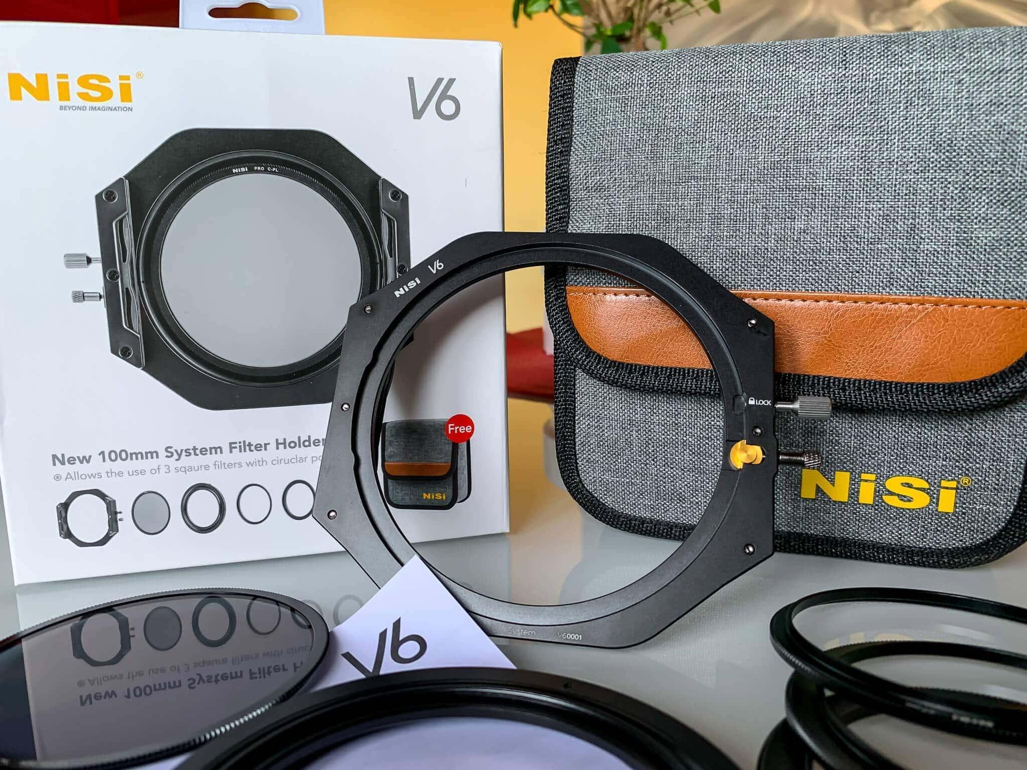 Francesco Gola New NiSi V6 Filter Holder Review Field FG unboxing