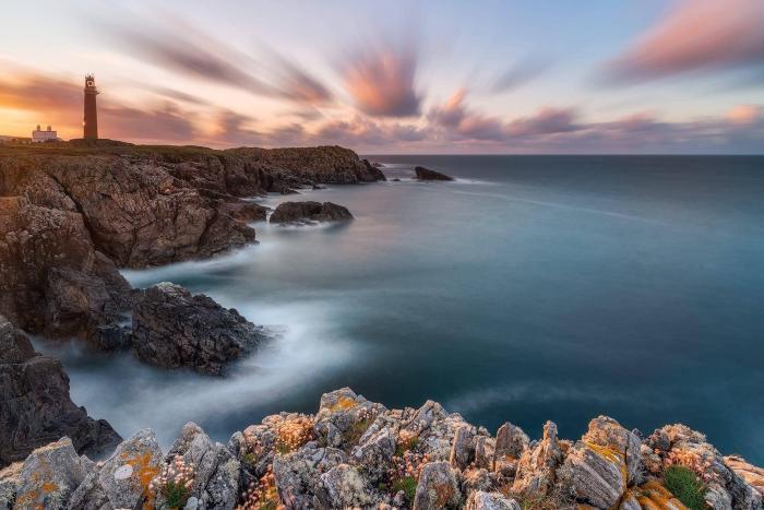 Francesco Gola Butt Lewis Outer Hebrides Lighthouse Scotland Lewis Long Exposure Seascape