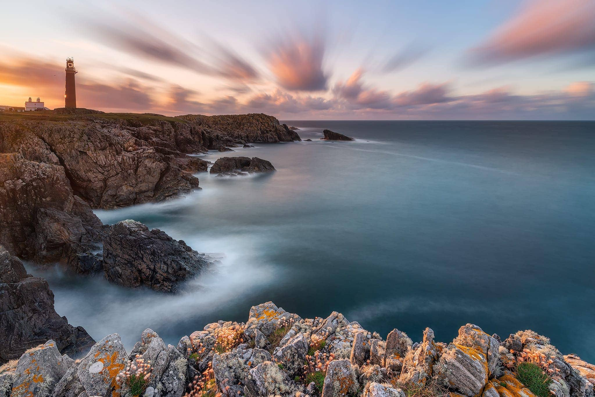 Francesco Gola Butt Lewis Outer Hebrides Lighthouse Scotland Lewis Long Exposure Seascape