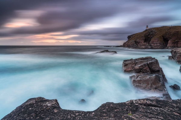 Francesco Gola Stoer Lighthouse Scotland Long Exposure Seascape Below