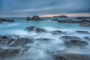 Francesco Gola Seascape Landscape Photography Godrevy Storm Uk Cornwall Long Exposure