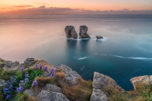 Francesco Gola Spain Cantabria Costa Quebrada Long Exposure Los Urros