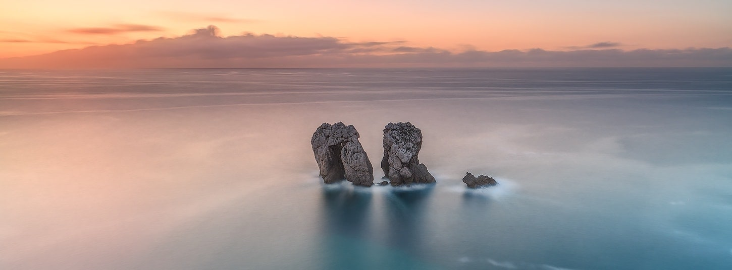 Francesco Gola Seascape Landscape Photography corso completo post produzione spagna nik lightroom photoshop tmpanel